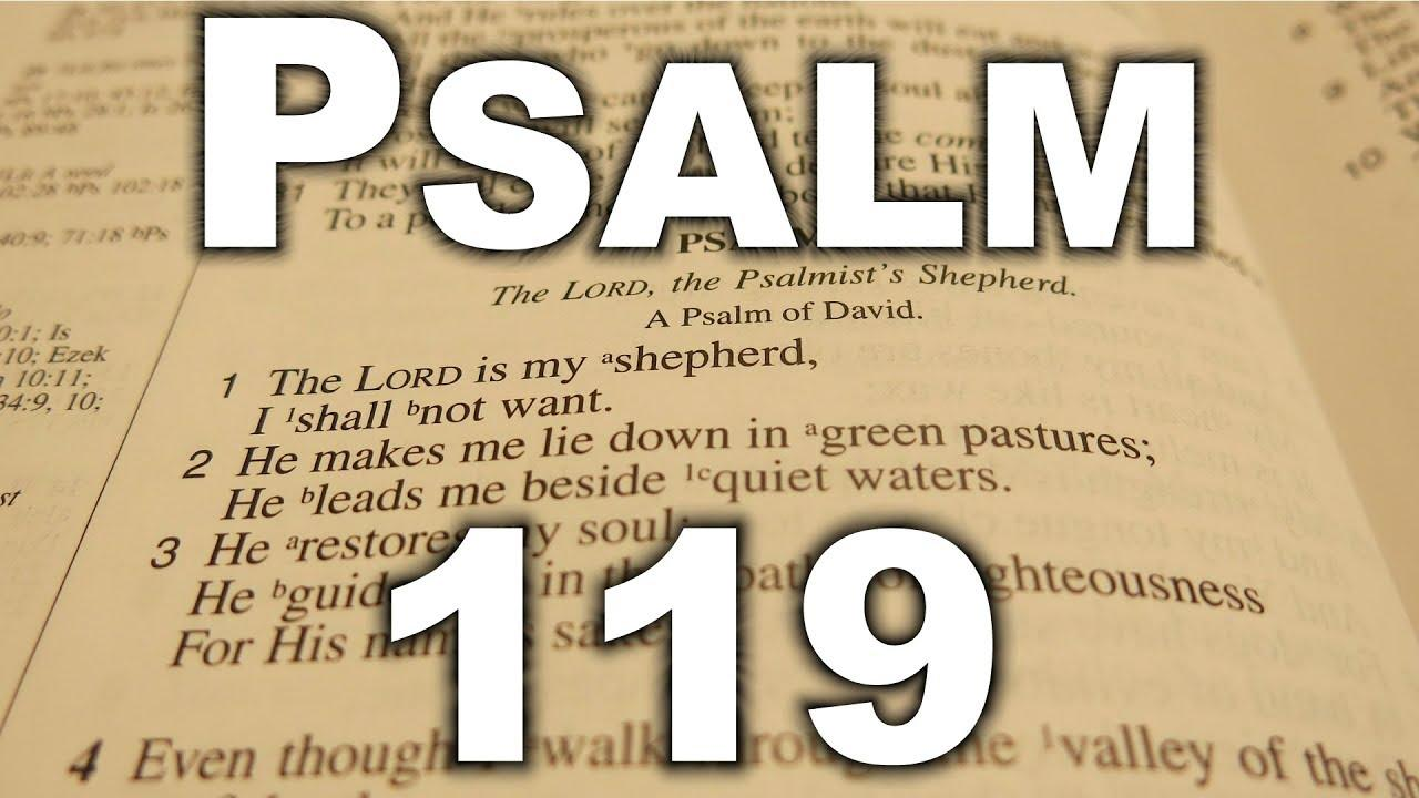 PSALM 119 - King James Version